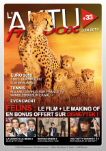 Couverture AKTU FreeBox N°33 - Félins - Le film + le making of en bonus offert sur DisneyTek !