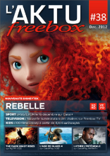 Couverture AKTU FreeBox N°38 - Rebelle