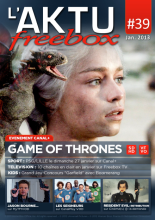 Couverture AKTU FreeBox N°39 - Game of Thrones