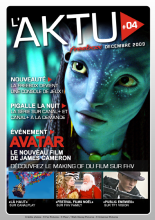 Couverture AKTU FreeBox N°4 - Avatar - Le nouveau film de James Cameron