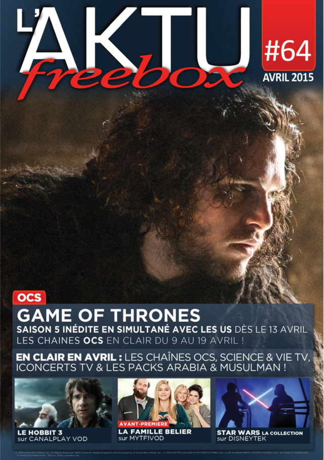 L'AKTU Freebox Abril N° 64